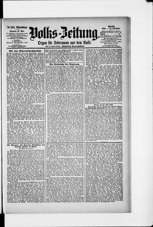 Volks-Zeitung vom 21.05.1895