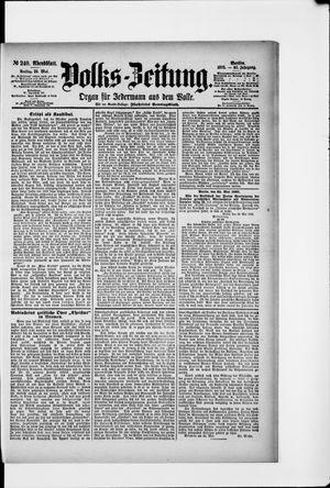 Volks-Zeitung vom 24.05.1895