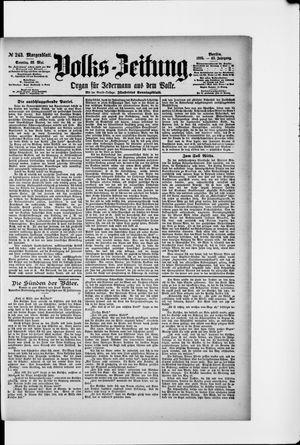 Volks-Zeitung vom 26.05.1895