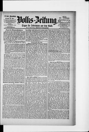 Volks-Zeitung vom 28.05.1895