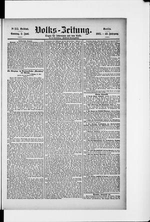Volks-Zeitung vom 02.06.1895