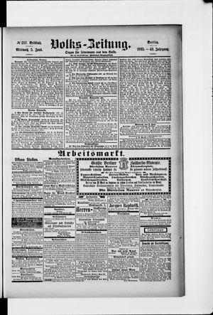 Volks-Zeitung vom 05.06.1895