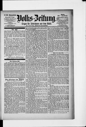 Volks-Zeitung vom 06.06.1895
