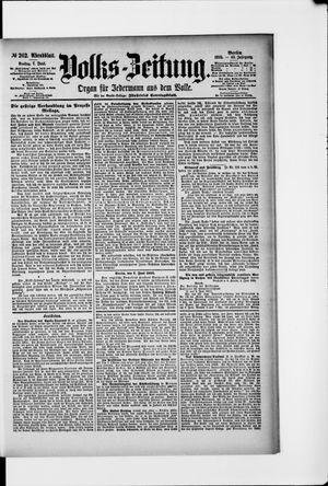 Volks-Zeitung vom 07.06.1895