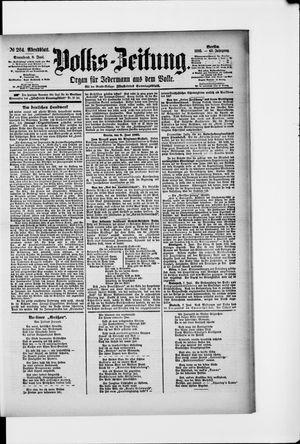 Volks-Zeitung vom 08.06.1895