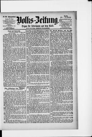 Volks-Zeitung vom 14.06.1895