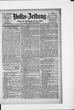Volks-Zeitung vom 15.06.1895