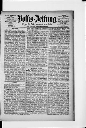 Volks-Zeitung on Jun 17, 1895