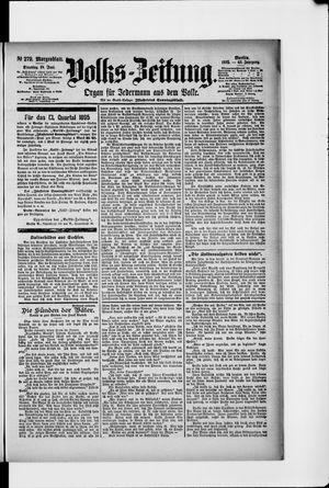 Volks-Zeitung vom 18.06.1895