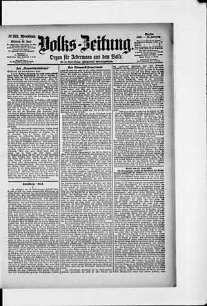 Volks-Zeitung vom 19.06.1895