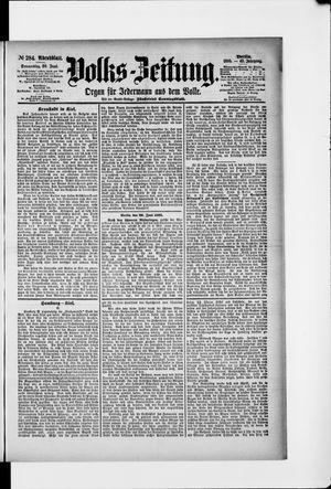 Volks-Zeitung vom 20.06.1895