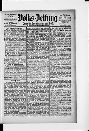 Volks-Zeitung vom 21.06.1895