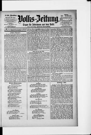 Volks-Zeitung vom 22.06.1895