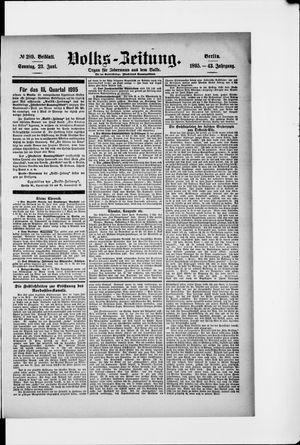 Volks-Zeitung vom 23.06.1895