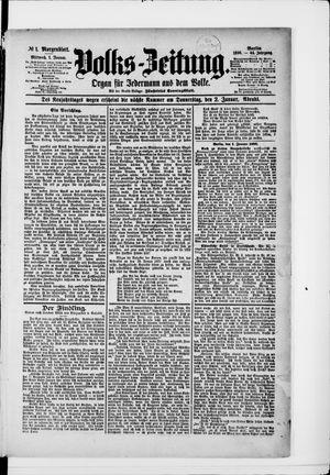 Volks-Zeitung vom 01.01.1896