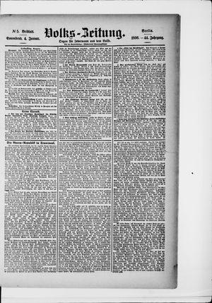 Volks-Zeitung vom 04.01.1896