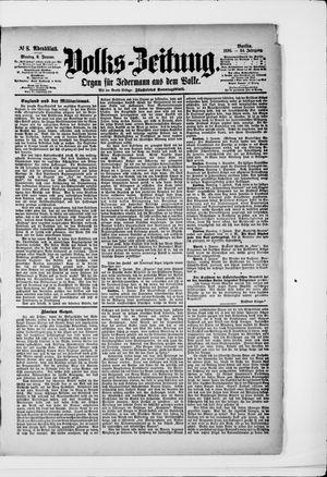 Volks-Zeitung vom 06.01.1896