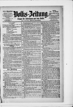 Volks-Zeitung vom 14.01.1896