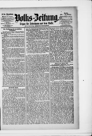 Volks-Zeitung vom 15.01.1896