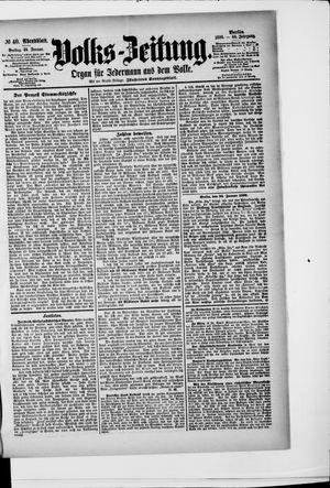 Volks-Zeitung vom 24.01.1896
