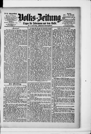 Volks-Zeitung vom 02.02.1896