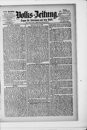 Volks-Zeitung vom 03.02.1896