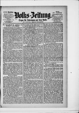 Volks-Zeitung vom 04.02.1896