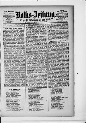 Volks-Zeitung vom 08.02.1896