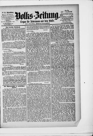 Volks-Zeitung vom 12.02.1896
