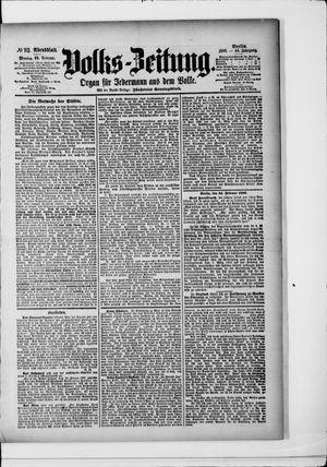 Volks-Zeitung vom 24.02.1896