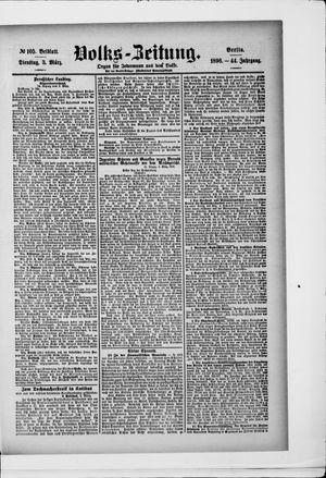 Volks-Zeitung vom 03.03.1896