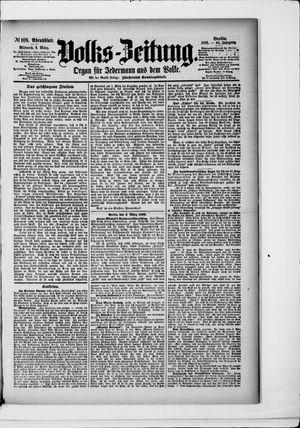 Volks-Zeitung vom 04.03.1896