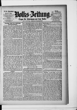 Volks-Zeitung vom 06.03.1896