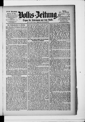 Volks-Zeitung vom 10.03.1896