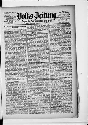 Volks-Zeitung vom 19.03.1896