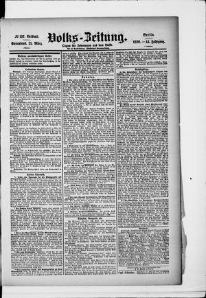 Volks-Zeitung vom 21.03.1896