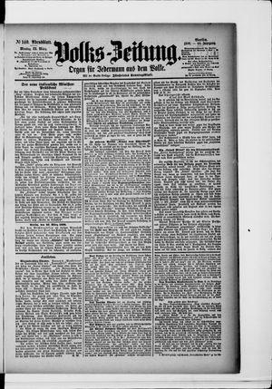 Volks-Zeitung vom 23.03.1896