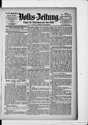 Volks-Zeitung vom 24.03.1896