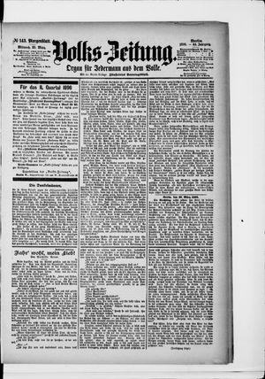 Volks-Zeitung vom 25.03.1896