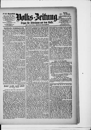 Volks-Zeitung vom 26.03.1896