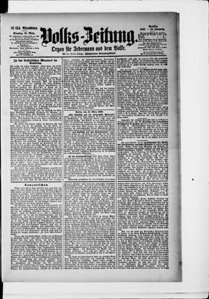 Volks-Zeitung vom 31.03.1896