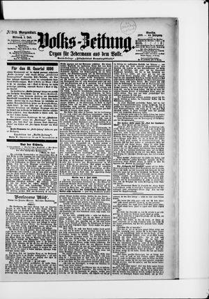 Volks-Zeitung vom 01.07.1896