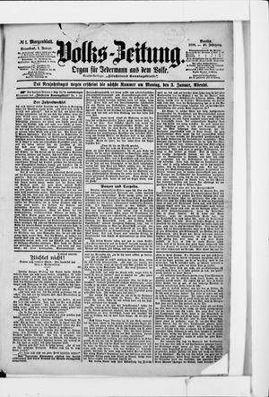 Volks-Zeitung vom 01.01.1898