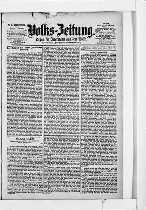 Volks-Zeitung vom 07.01.1898