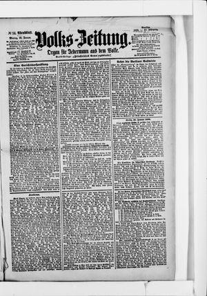 Volks-Zeitung vom 10.01.1898