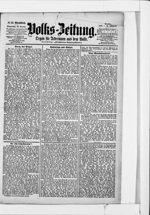 Volks-Zeitung vom 13.01.1898