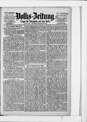 Volks-Zeitung vom 14.01.1898