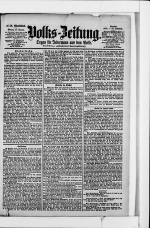 Volks-Zeitung vom 17.01.1898