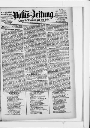 Volks-Zeitung vom 29.01.1898