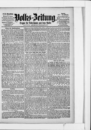Volks-Zeitung vom 31.01.1898